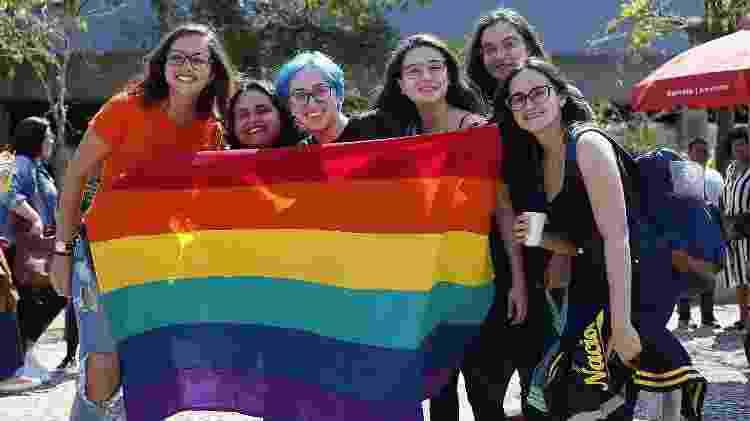 Público LGBTQ+ na Bienal do Livro, neste sábado (7) - Marcelo de Jesus/UOL