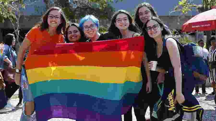 Público LGBTQ+ na Bienal do Livro - Marcelo de Jesus/UOL