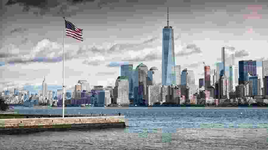 Nova York e o edifício One World Trade Center - Andrew_Deer/Getty Images/iStockphoto