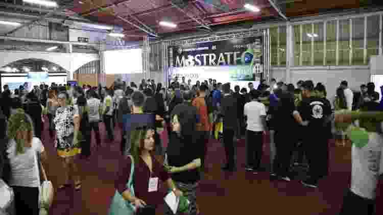 Fundação Liberato criou a Mostratec, a maior feira da América Latina para jovens pesquisadores - Divulgação - Divulgação