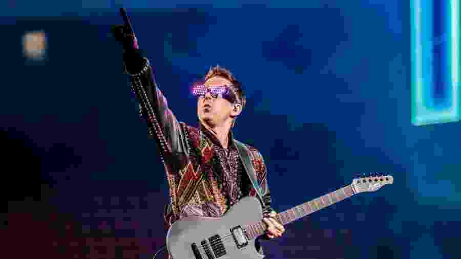 A banda britânica Muse, do vocalista Matthew Bellamy, encerra a edição de 2019 do Rock in Rio - Sergione Infuso/Corbis via Getty Images