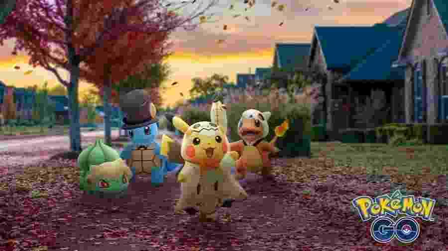 Evento de Halloween no Pokémon Go - Divulgação/Niantic