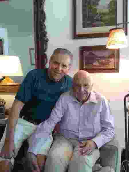 Carlos Alberto de Nóbrega e seu tio Fernando - Instagram