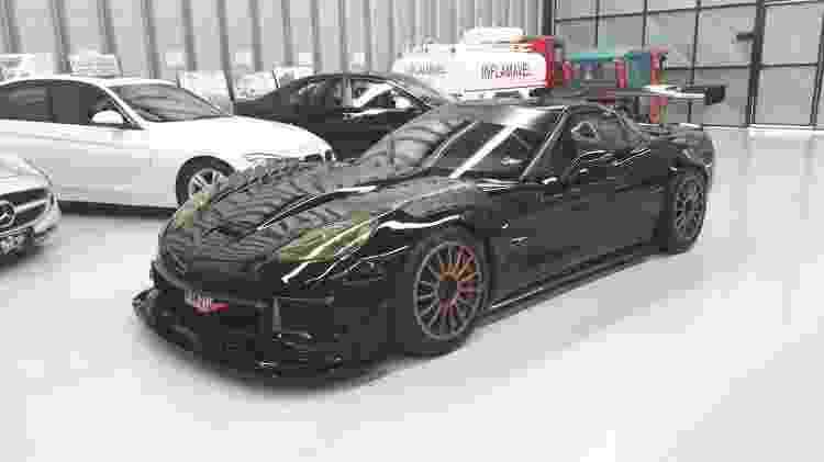 Corvette ZR1 tem aproximadamente 800 cv e câmbio sequencial - Vitor Matsubara/UOL