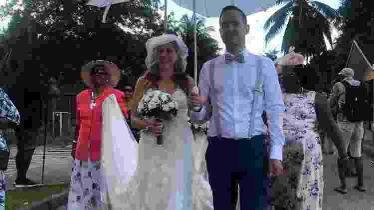 Casamento no Festival Creole das Seychelles - Andrea Miramontes/UOL - Andrea Miramontes/UOL