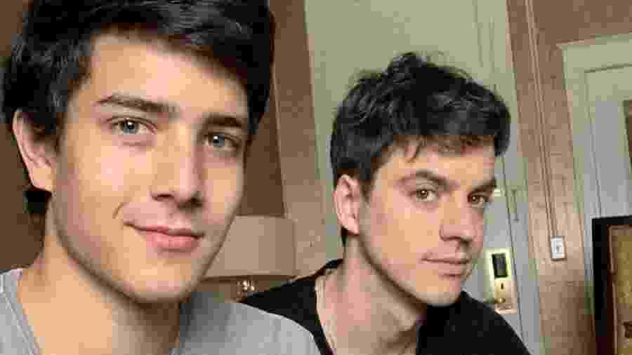 Fernando Siqueira e Fernando Grostein, irmão de Luciano Huck - Reprodução/ Instagram