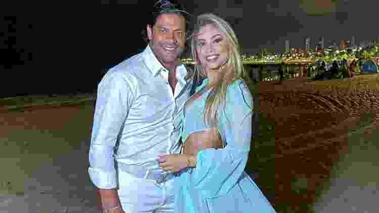 Hulk Paraíba e Camila Ângelo - Reprodução/Instagram