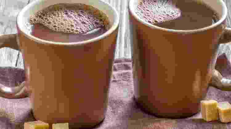Chocolate quente - Divulgação - Divulgação