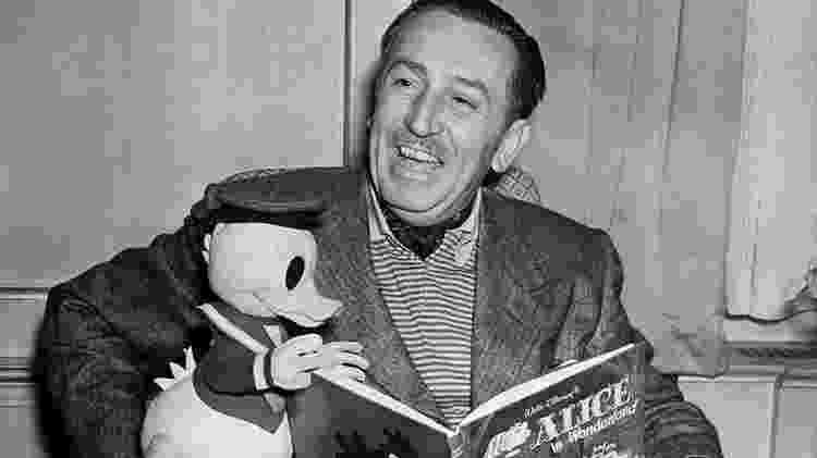 Walt Disney, tio avô de Abigail, foi aliado da 'caça aos comunistas' nos EUA - Getty Images - Getty Images