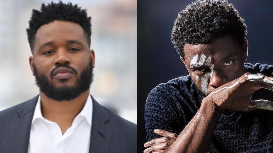 "Ryan Coogler fala sobre ""Pantera Negra"" sem Chadwick Boseman - Imagem: Reprodução/Instagram@ryan_coogler_ @chadwickboseman"
