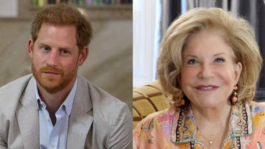 Príncipe Harry troca aniversário da avó por jantar de Wallis Annenberg  - Reprodução/Instagram/annenberg.org