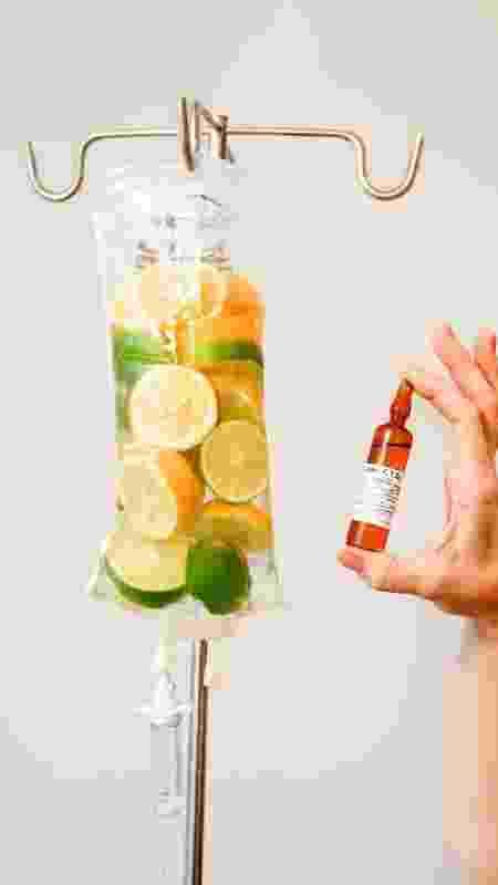 soroterapia, soro na veia, reposição de nutrientes, vitamin drip - iStock - iStock