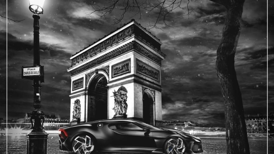 Bugatti La Voiture Noire  - Divulgação