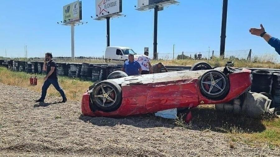Ferrari 458 Italia bate em circuito de Jarama - Reprodução