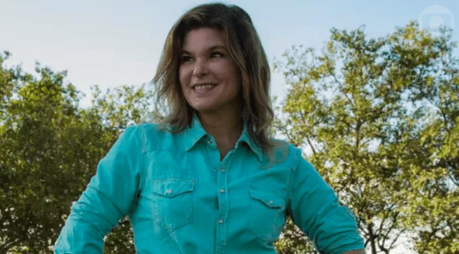 25.jul.2015 - Cristiana Oliveira retorna ao Pantanal pela primeira vez