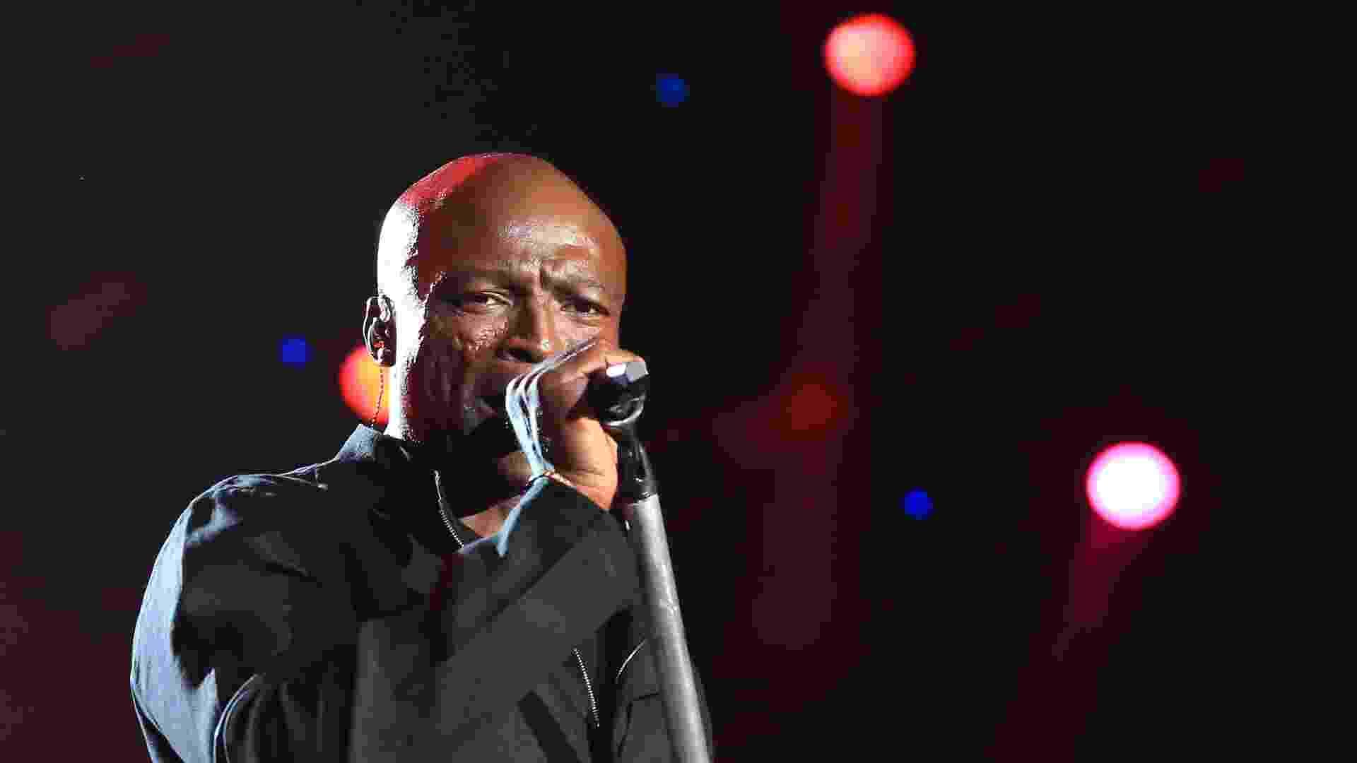 20.set.2015 - Seal se apresenta no palco Mundo no terceiro dia do Rock in Rio 2015 - Marco Antonio Teixeira/UOL