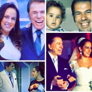 Silvia Abravanel resgata fotos antigas para parabenizar o pai, Silvio Santos - Reprodução/Facebook/Silvia Abravanel