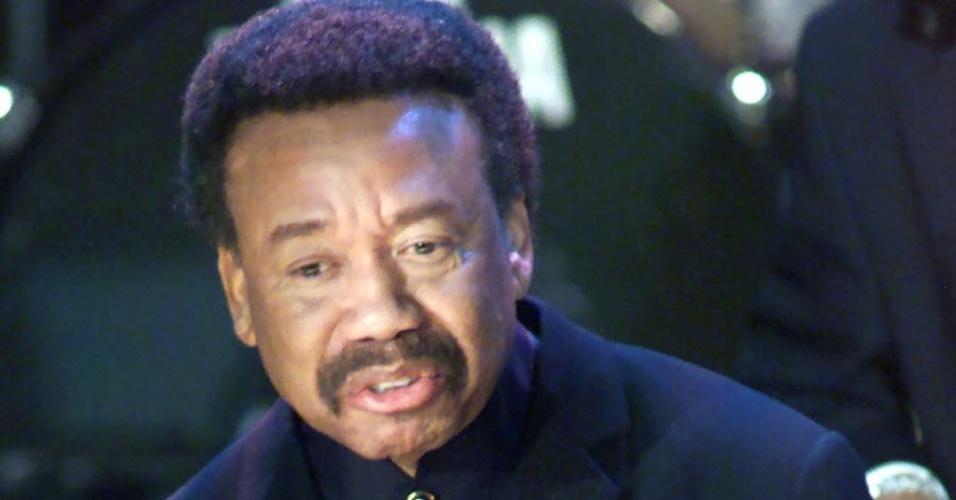 O fundador da banda Earth, Wind & Fire, Maurice White