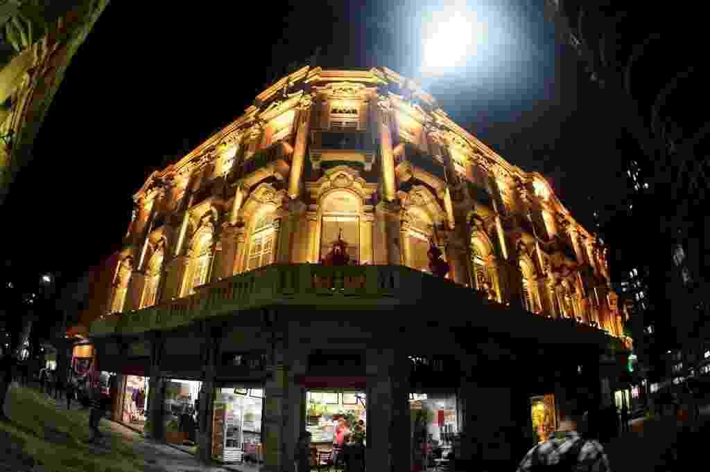 Palacete Tereza Toledo Lara, que recebe show da Casa de Francisco na Virada Cultural de São Paulo - Flavio Florido/UOL