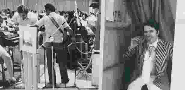 """O """"patrão"""" em momento relaxado nos bastidores: uma das imagens que estará na exposição no MIS - Divulgação / Sérgio Sade - Divulgação / Sérgio Sade"""