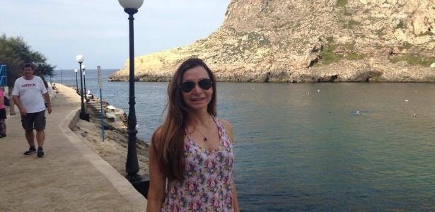 Estudando em Malta, Teresa quis conhecer os pontos frequentados por moradores locais - Arquivo pessoal