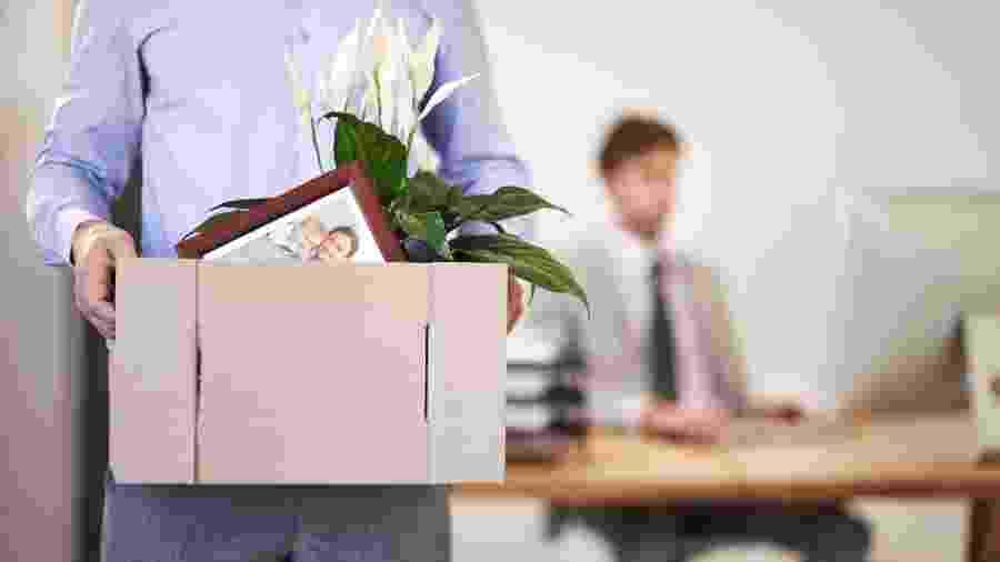 demissão, trabalho, empresa, demitido, emprego - Getty Images