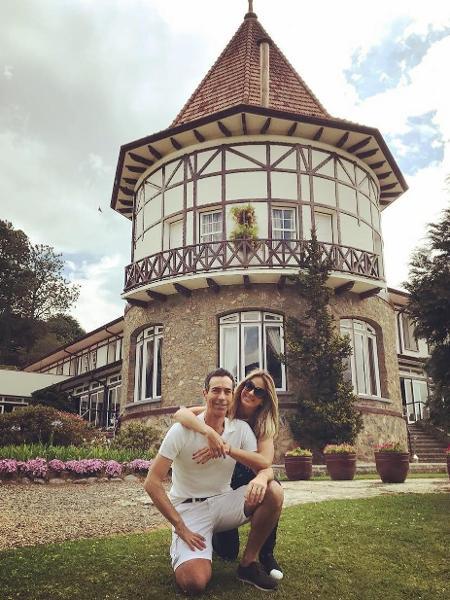 César Tralli e Ticiane Pinheiro no hotel onde vão trocar alianças em dezembro - Reprodução/Instagram