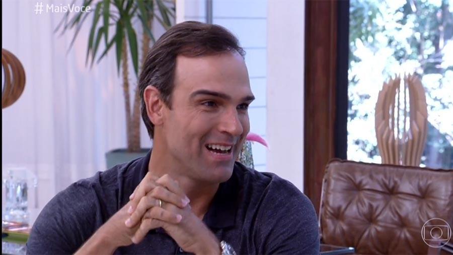 """Tadeu Schmidt participa do """"Mais Você"""" desta sexta (27) - Reprodução/Globo"""