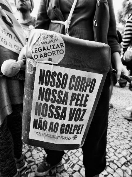 São Paulo, Brazil - maio de 2016, protesto de mulheres  - Getty Images