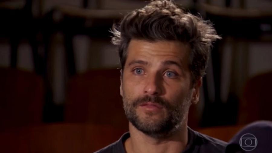 """No """"Fantástico"""", Bruno Gagliasso chora ao falar de ataques racistas sofridos pela filha, Titi - Reprodução/TV Globo"""