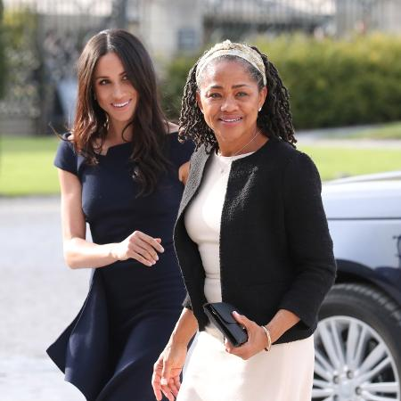 Meghan e sua mãe, Doria -  Steve Parsons - Pool / Getty Images