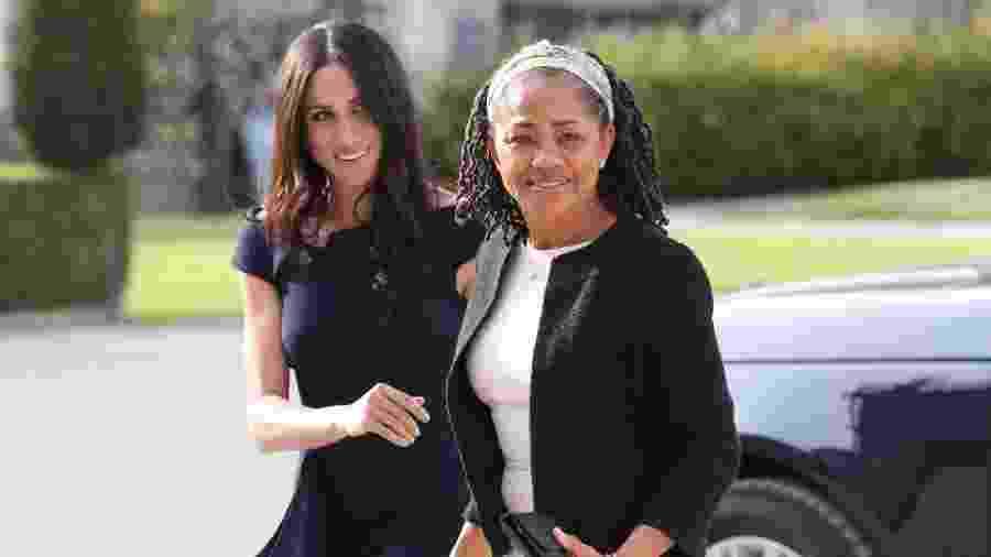 Meghan e sua mãe, Doria - Getty Images