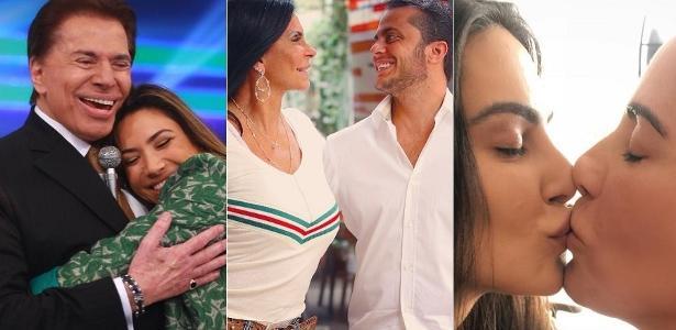 Pais e filhos inseparáveis: Silvio Santos e Patricia Abravanel, Gretchen e Thammy Miranda, Cleo e Gloria Pires