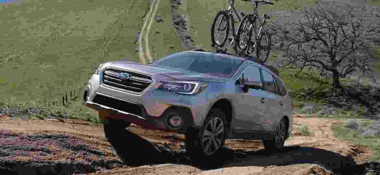 Outback: crossover é modelo mais vendido da Subaru e pode representar o futuro do Fusion - Divulgação