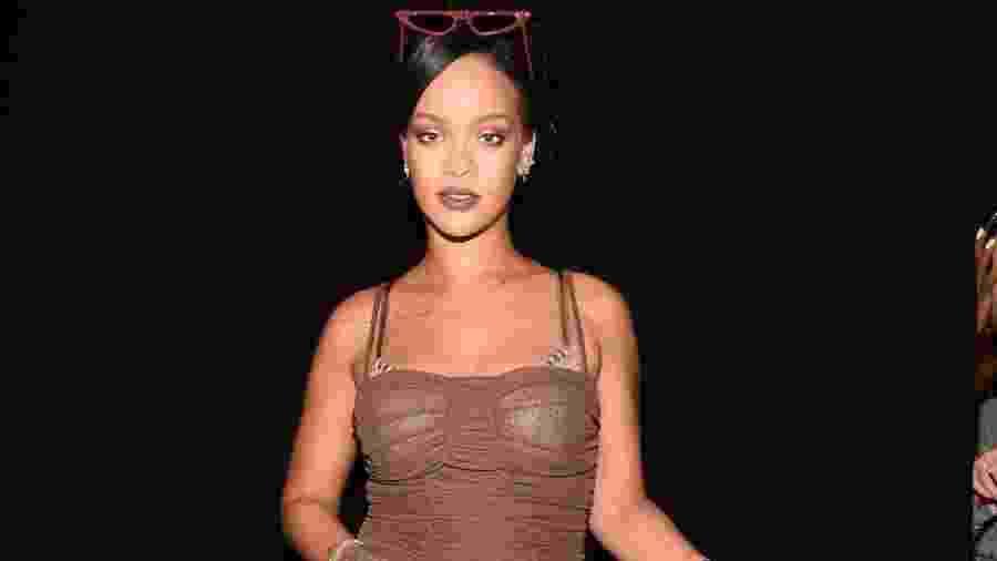 Desfile da Savage X Fenty, grife de lingerie de Rihanna, na NYFW 2018 - Reprodução/Instagram