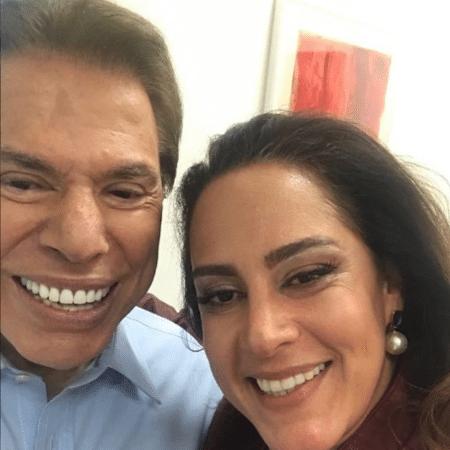 Silvio Santos e Silvia Abravanel - Reprodução/Instagram