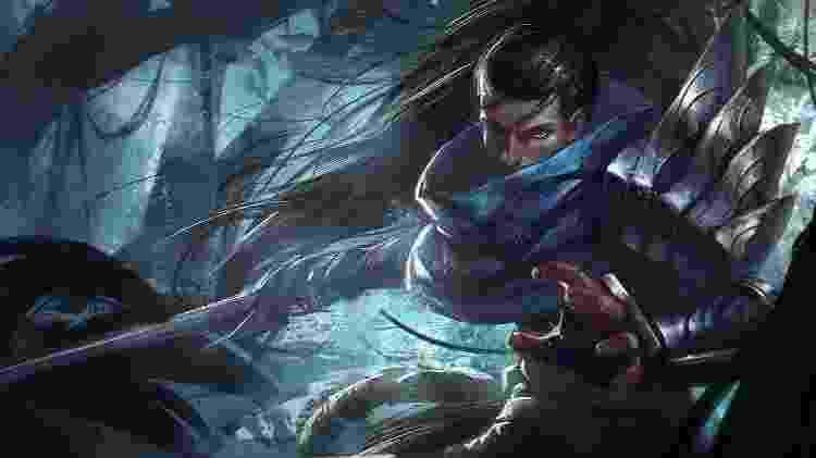 League of Legends - Yasuo - Reprodução - Reprodução