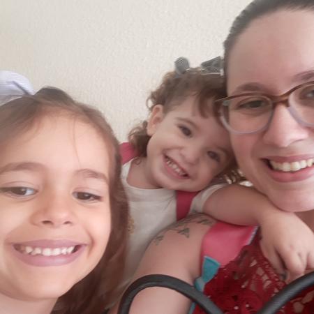 Milena Telles descobriu que o marido era gay quando eles já tinham uma filha - Arquivo Pessoal