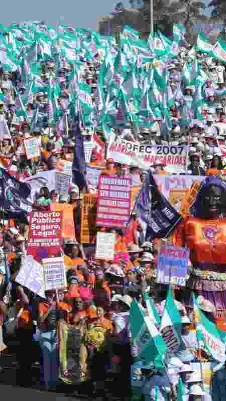 Marcha das Margaridas, evento em Brasília que reúne camponesas de todos os estados - Cesar Ramos-Arquivo/Divulgação - Cesar Ramos-Arquivo/Divulgação