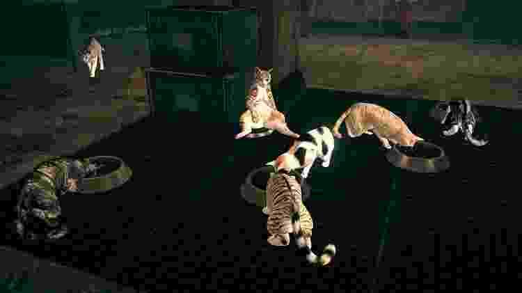 Astral Chain gatos - Reprodução - Reprodução