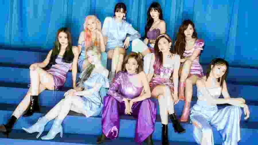 O grupo feminino de k-pop Twice - JYP Entertainment