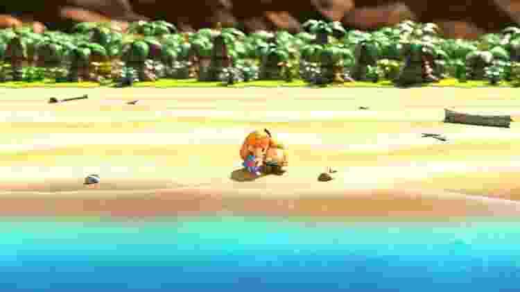 Zelda Naufrágio - Reprodução - Reprodução