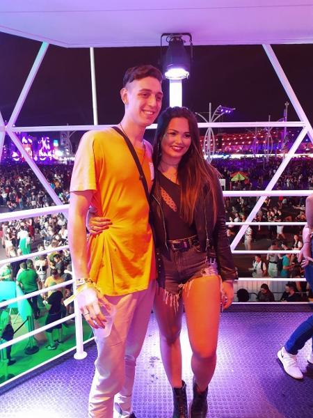 Suzana Freitas e o namorado Gabriel - Lucas Pasin