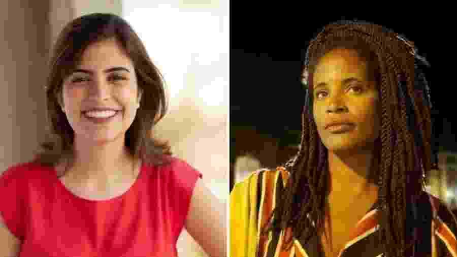A deputada Tabata Amaral e a filósofa Djamila Ribeiro são as representantes brasileiras na edição de 2019 do 100 Mulheres - Arquivo Pessoal
