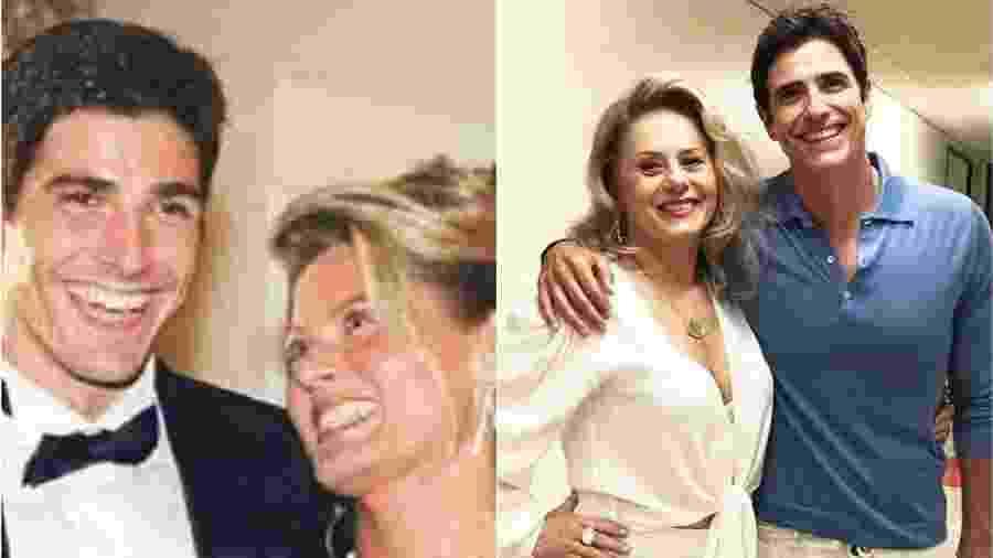"""Vera Fischer e Gianecchini se reencontram após par romântico em """"Laços de Família"""" - Reprodução/TV Globo/Instagram Montagem/UOL"""