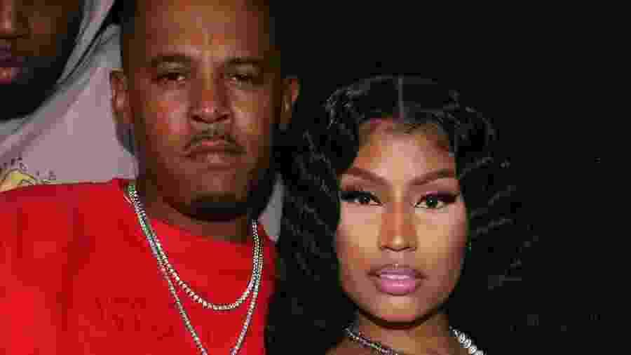 "Nicki Minaj e o marido, Kenneth ""Zoo"" Petty - Getty Images"