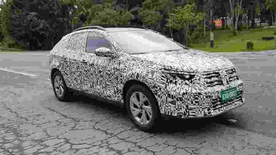Flagra do novo SUV cupê da Volkswagen - Vitor Matsubara/UOL