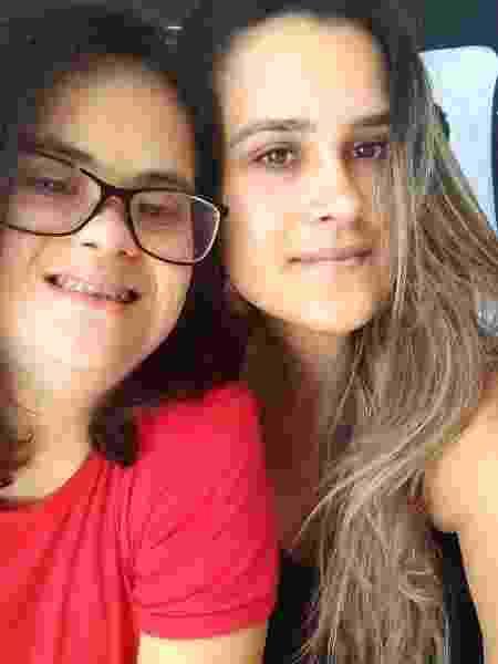 As irmãs gêmeas Rafaela e Graziela Altino Gomes, 32 - Arquivo pessoal