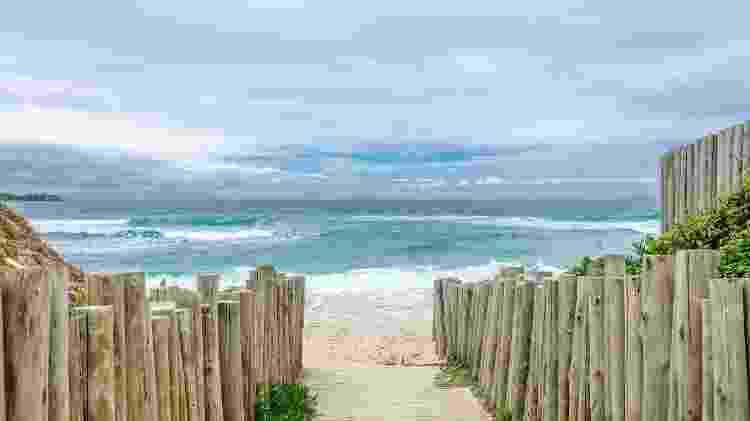 Praia do Campeche, em Florianópolis, em Santa Catarina - iStock