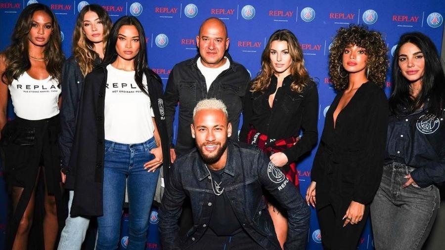 Neymar participa de evento de marca italiana - Reprodução/Instagram